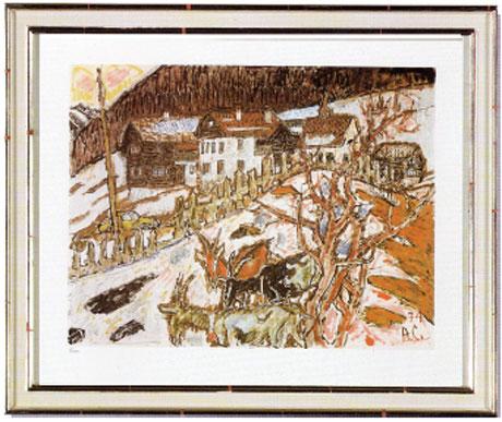 GR6 «Blick ins Dorf»