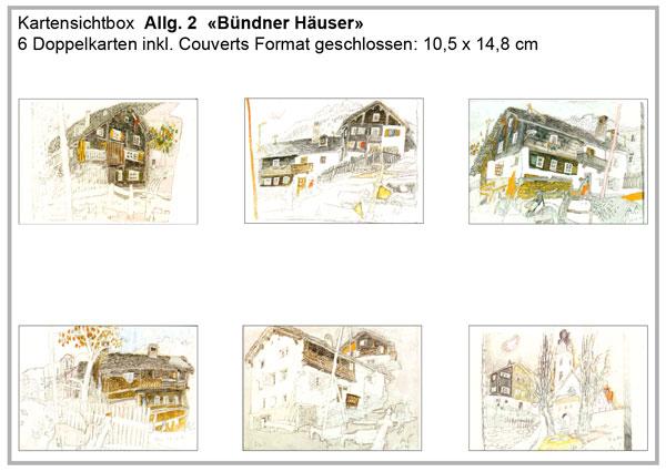 Allg. 2 «Bündner Häuser»