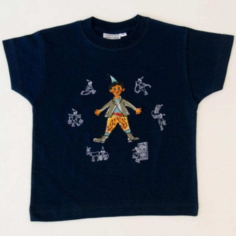 Kinder T-shirt blau «Schellen-Ursli»