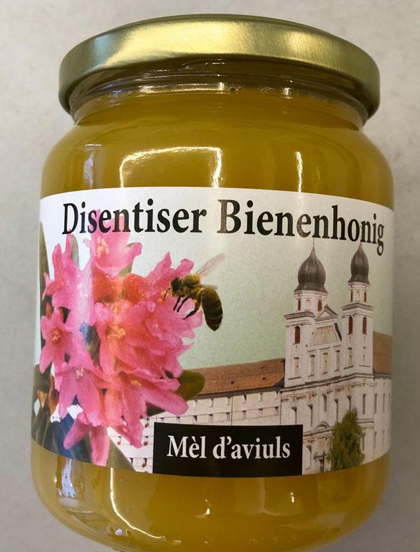 Mel d\'aviuls, Bündner Bergbienenhonig, Kloster Disentis