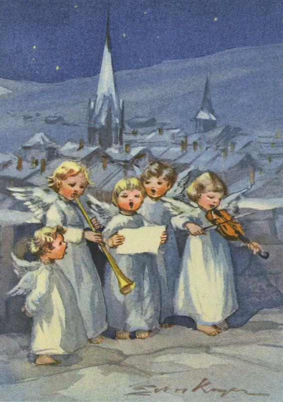 7449 «Fünf musizierende Engel»