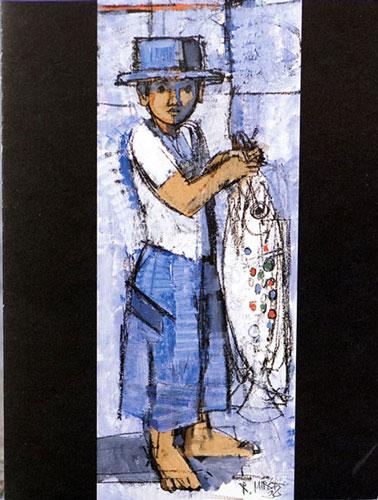 RM181 «Knabe mit Fisch»