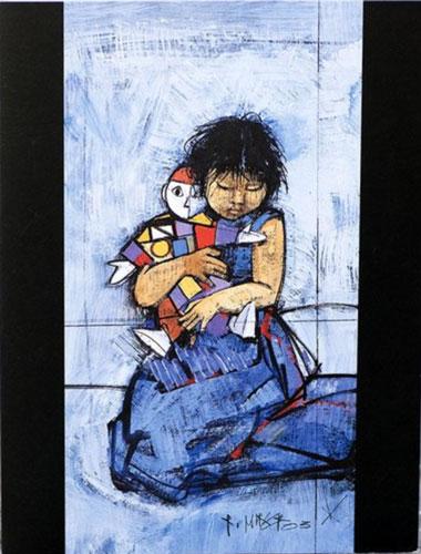 RM191 «Mädchen mit Puppe»