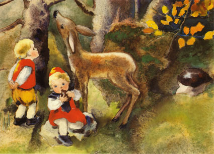 491 «Im Herbstwald»