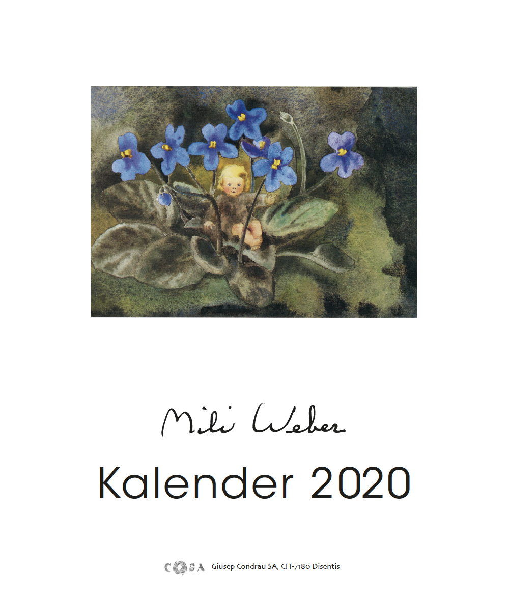 Jahreskalender «Mili Weber 2020»