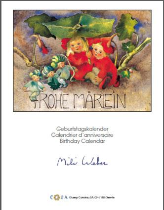 Geburtstagskalender «Mili Weber»