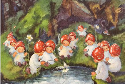 20032 «Pilzkinder am Teich»
