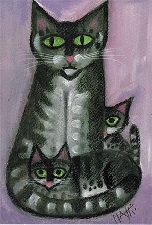 Pid 8 «Katze mit Kinder»