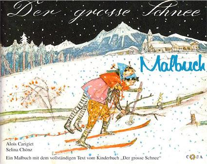 M2 «Der grosse Schnee» Malbuch