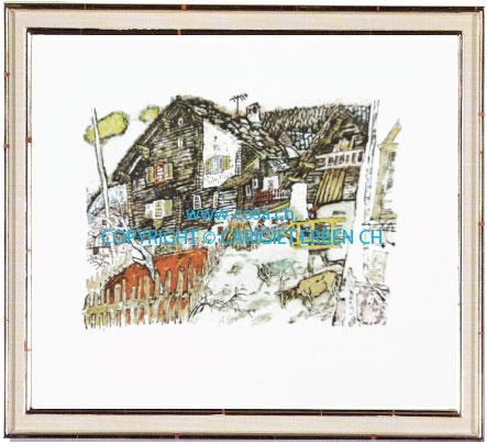 Cp19 «Bauernhaus in Vals»