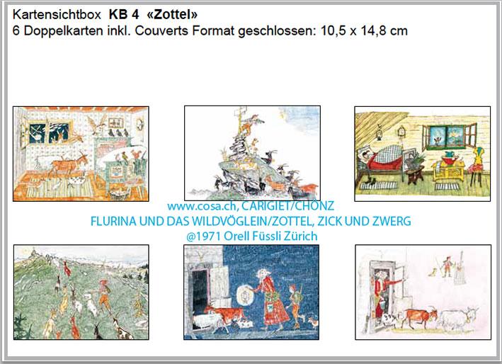 KB 4 «Zottel, Zick und Zwerg»