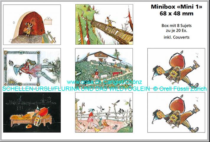 Mini 1 «Minikarten Box»