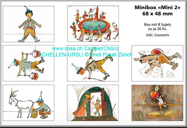 Mini 2 «Minikarten Box»