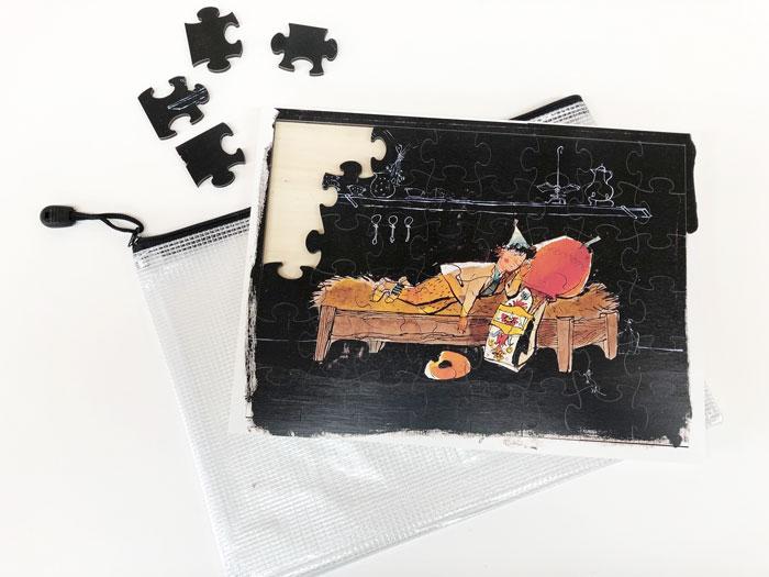 PZ28 Holzpuzzle «Schellen-Ursli»