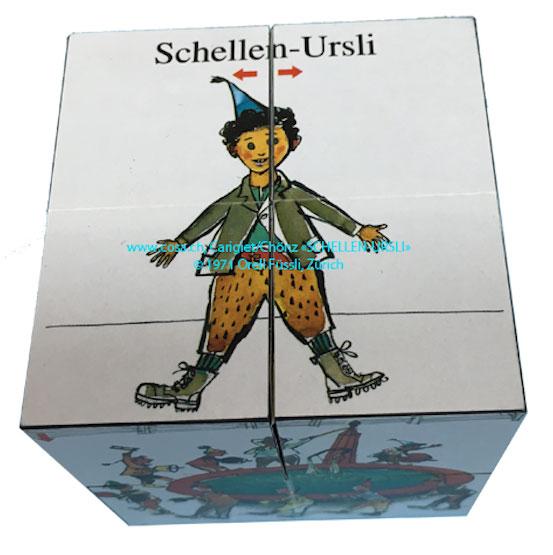 691 Geschichtswürfel «Schellen-Ursli»