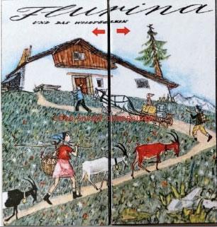 693 Geschichtswürfel «Schellen-Ursli + Flurina»
