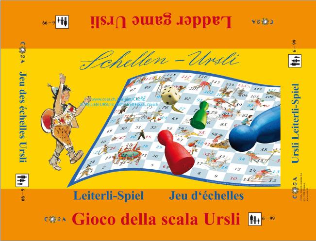 Leiterli Spiel «Schellen-Ursli»