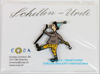 M542 Magnet/Pin «Schellen-Ursli»