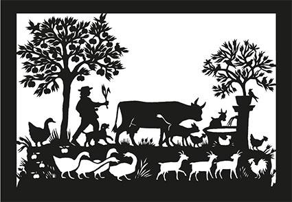 SR 13 «Kuh am Brunnen»