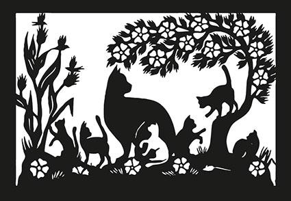 SR 19 «Katzenfamilie»
