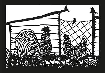 SR 20 «Hühnerfamilie»