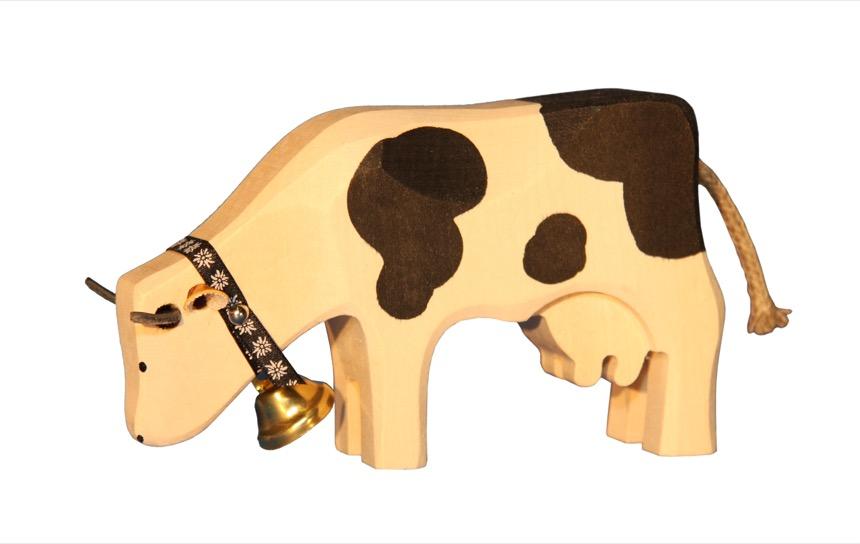 1007 Kuh fressend Freiburger