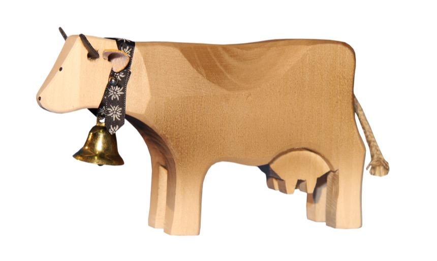 1001 Kuh stehend Braunvieh
