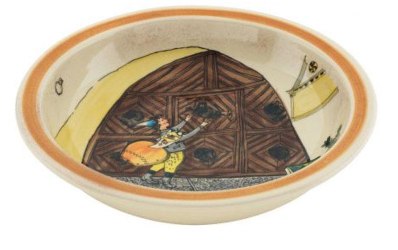 39012 Schale «Ursli am Tor», Rheinfelder Keramik