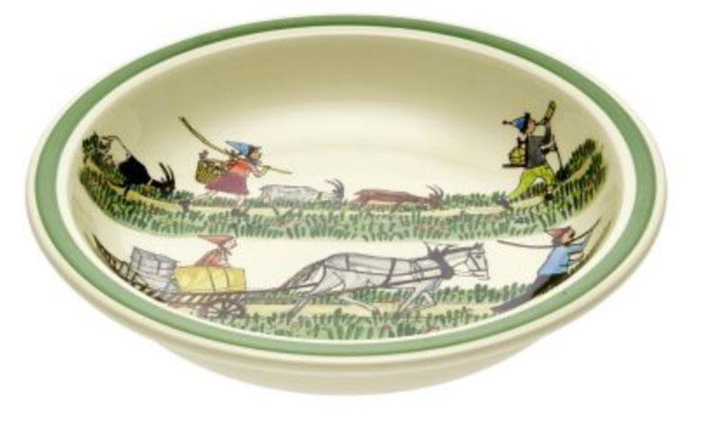 39015 Schale «Alpaufzug», Rheinfelder Keramik
