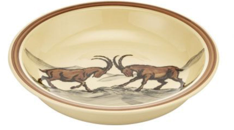 39016 Schale «Steinbock», Rheinfelder Keramik