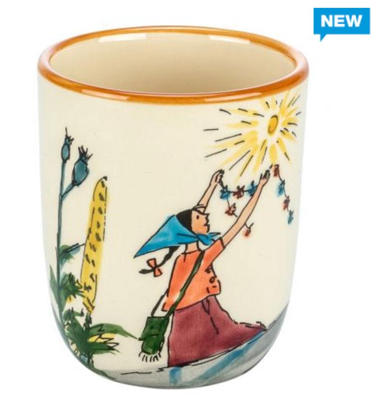 39344 Kindertasse «Flurina auf Fels», Rheinfelder Keramik