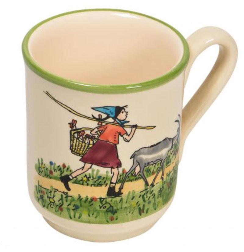 39450 Mug «Flurina mit Geiss», Rheinfelder Keramik