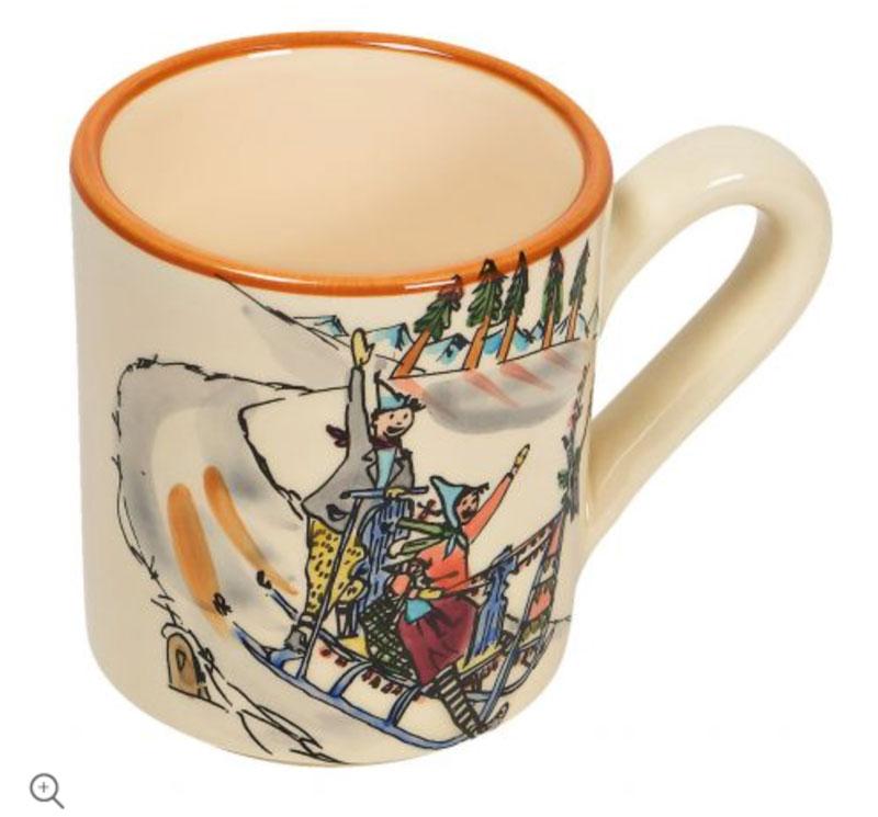 39451 Mug «Schlittenfahrt», Rheinfelder Keramik