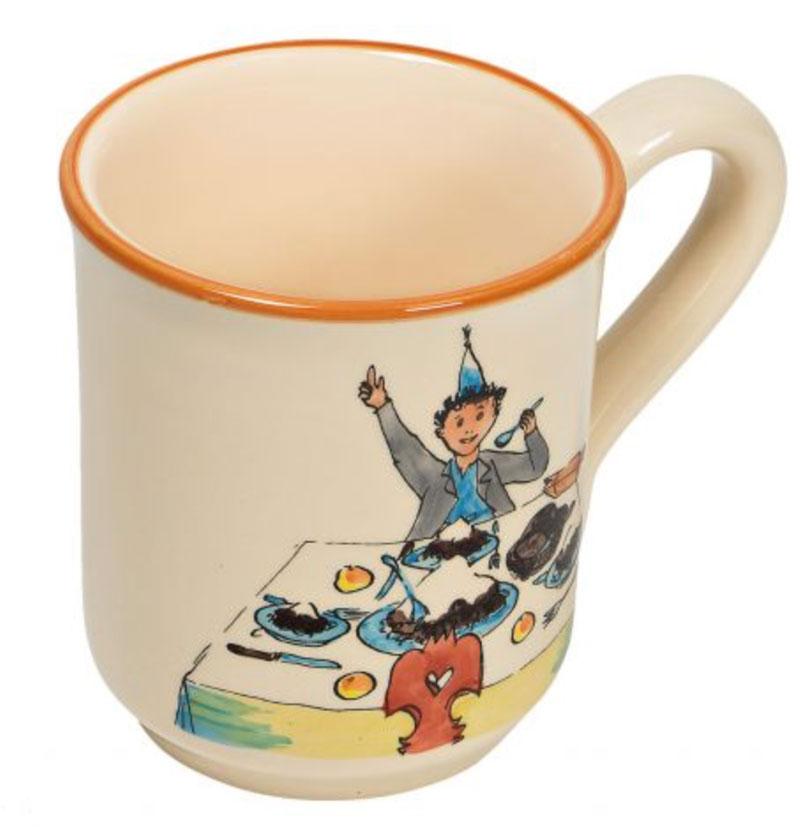 39453 Mug «Ursli am Tisch», Rheinfelder Keramik