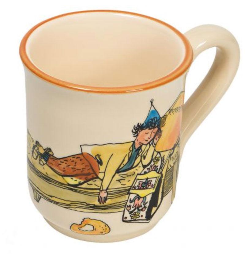 39456 Mug «Ursli schläft auf Glocke», Rheinfelder Keramik