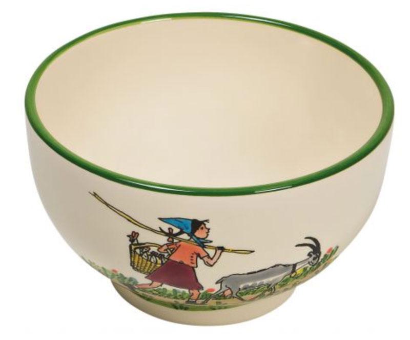 39481 Müslischale «Flurina mit Geiss», Rheinfelder Keramik