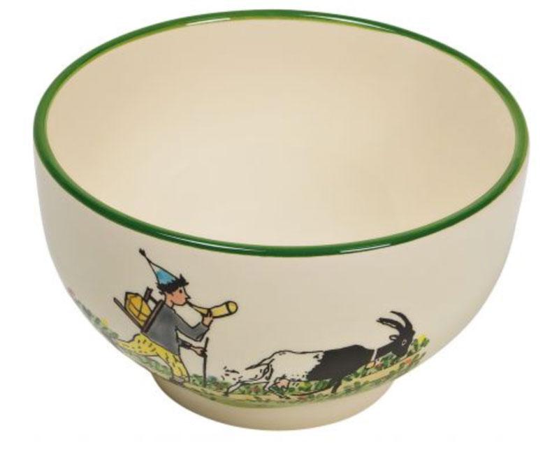 39484 Müslischale «Ursli mit Geiss», Rheinfelder Keramik
