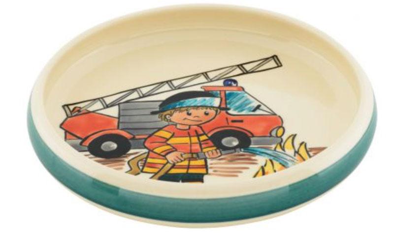 39521 Kinderteller Feuerwehrmann