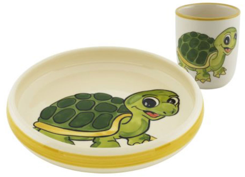 39553 Kinderset Schildkröte Box